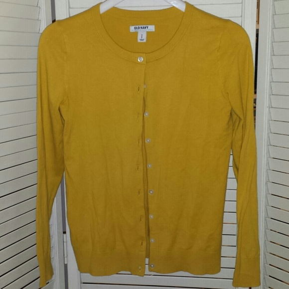 66% off Old Navy Sweaters - Old Navy mustard cardigan from Peggy's ...