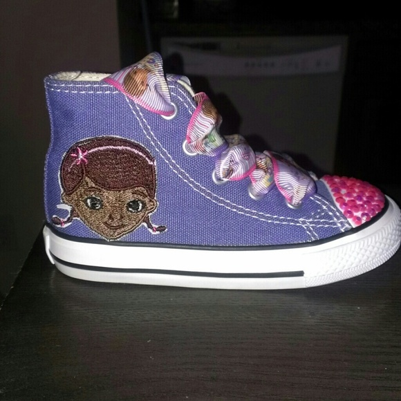 Custom Doc Mcstuffins Toddler Shoe