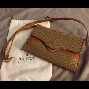  Auth. {gucci} Vintage Shoulder Bag