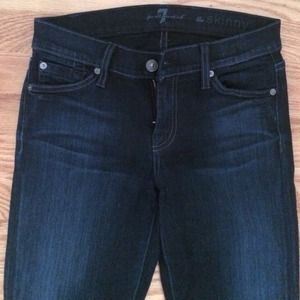 Seven for all mankind the skinny