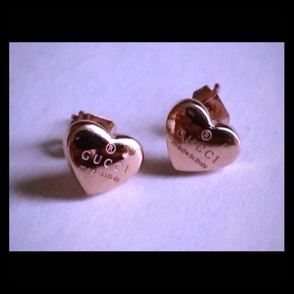 4a8254b6e Gucci Accessories   18k Rose Gold Earrings   Poshmark