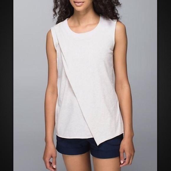 Lululemon Luxtreme Fabric To Class Tee-Size 4
