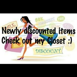 Newly Discounted Items!!!