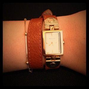 MK double wrap bracelet watch
