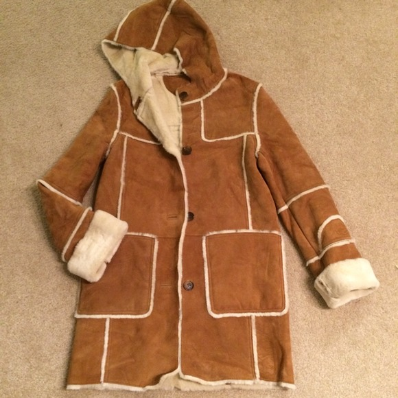 57 Off Ugg Outerwear Full Length Ugg Shearling Coat