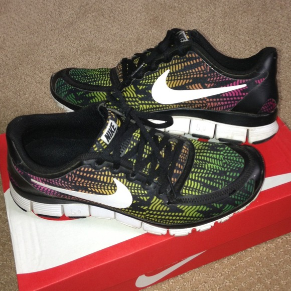 womens nike free 5.0 v4 size 9 Flash running shoes ...