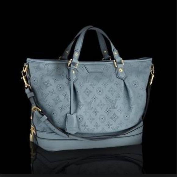 Louis Vuitton Stellar Handbag Mahina Leather Pm wU3vihaLU