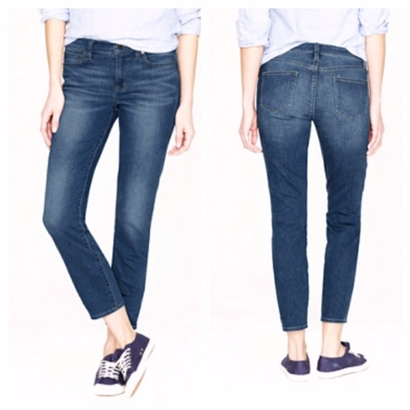 J. Crew Denim - SALE  18 J.Crew REID CROP JEAN MEDIUM OXFORD WASH 4a7499957