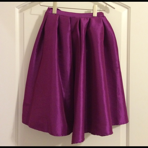 Chicwish Skirts - Purple Midi Skirt