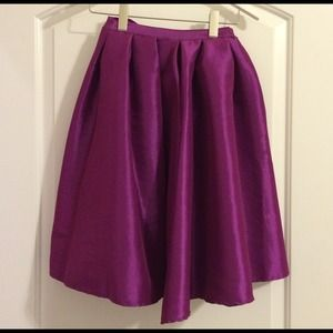 Chicwish Dresses & Skirts - Purple Midi Skirt