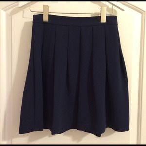J. Crew Dresses & Skirts - J. Crew A Line Navy Skirt