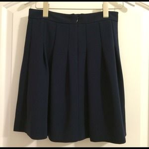 J. Crew Skirts - J. Crew A Line Navy Skirt