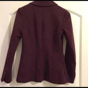 H&M Jackets & Coats - H&M plum blazer
