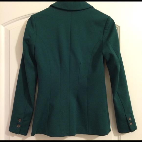 H&M Jackets & Coats - H&M Green Blazer