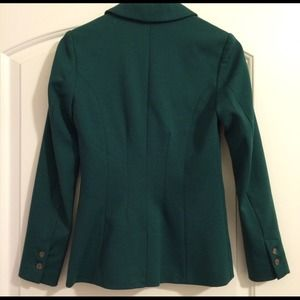 H&M Jackets & Coats - H&M Green Blazer