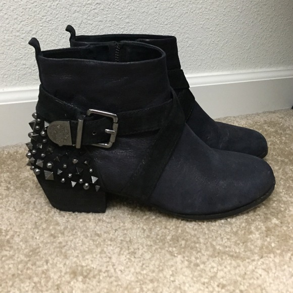 350a9adde55 Vince Camuto Studded Ankle Boots