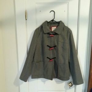 Oldnavy hooded toggle coat