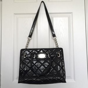 Michael Kors Quilted Large Hamilton Tote