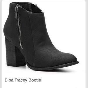 50 Off Diba Shoes Diba Tracey Bootie Boots In Black