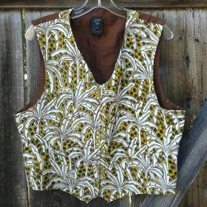 Jean Paul Gaultier Jackets & Blazers - Jean Paul Gaultier palm tree vest
