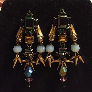 Host PickJ. Crew Chandelier Earrings NWT