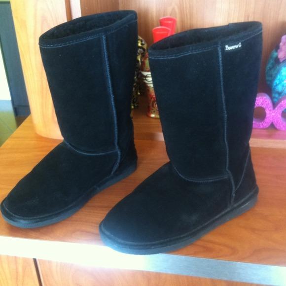 Bear Paws Boots uk Bear Paw Black Fur Boots