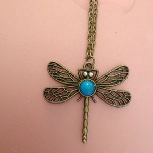 Dragonfly  necklace 6 available