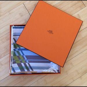 Hermes 90 Silk Scarf Carre Photo Finish Dimitri R