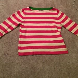 Juicy Couture Striped Knit Sweater