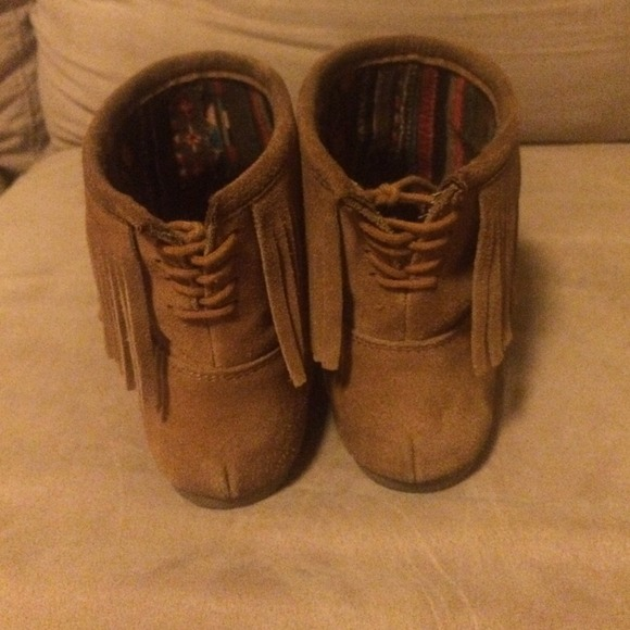 25% off Makalu california Boots - Makalu fringe boots from Adela's ...