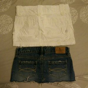Abercrombie & Fitch Dresses & Skirts - 2 mini skirt bundle