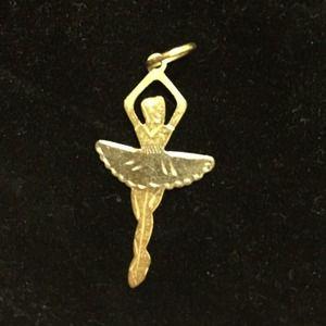 Jewelry - 18k gold ballerina pendent!
