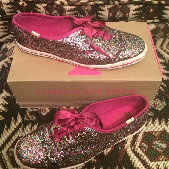bf5804f904d9 kate spade Shoes - Kate Spade x Keds Multicolor Glitter sneakers!💖