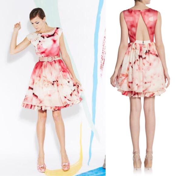 baa6745bd27c4 Alice + Olivia Dresses | Hp Alice Olivia Catherine Silk Floral Dress ...