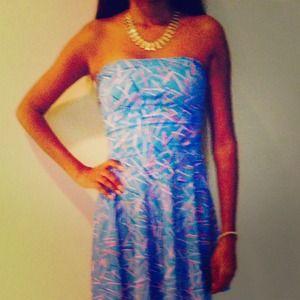 American Apparel Printed Dress