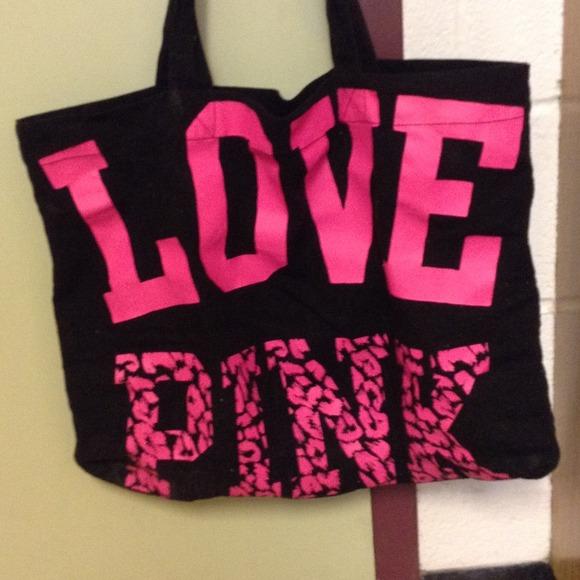 50% off Victoria's Secret Handbags - Victoria secret love pink bag ...