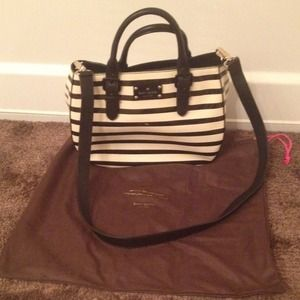 Kate Spade Striped Bag