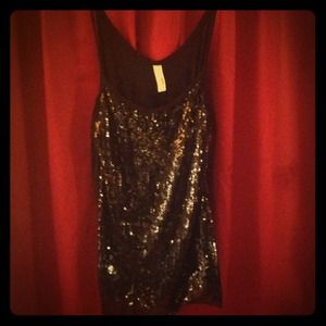 Sequined tank from modcloth