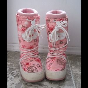 Reserved snow Moon Boots Bundle