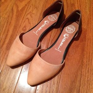 "Jeffrey Campbell Shoes - Jeffrey Campbell ""In Love"" d'Orsay Flats"
