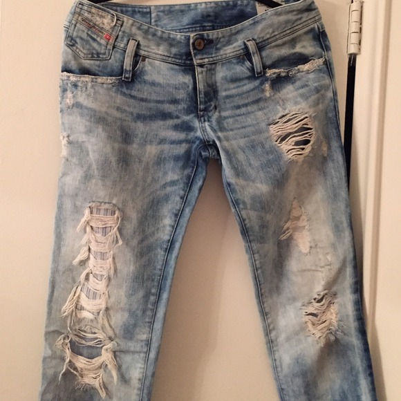 6c3a4cf3 Diesel Pants | Rare Matic Distressed Jeans | Poshmark