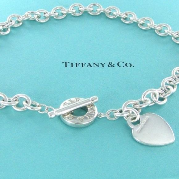 Tiffany Amp Co Jewelry Tiffany And Co Heart Tag Choker
