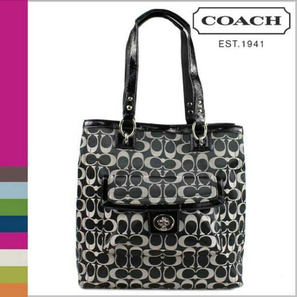 how to clean a sateen coach purse