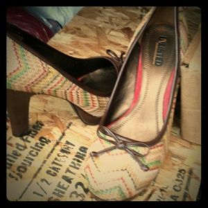 Unlisted Shoes - *SALE* Unlisted multi color heels