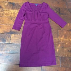 Plum lands end dress
