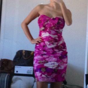 Arden B  Dresses & Skirts - Arden B Dress- Pink Multi Floral. Brand new w tag