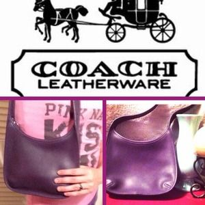 Reduced! Authentic- Coach Mini Ergo Purple