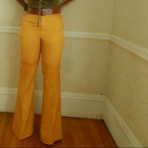 Pants - Medium Vintage Inspired Wide Leg Pants