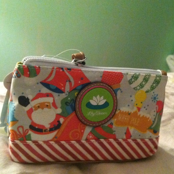 Lily Bloom - NWT Christmas Lily Bloom wallet from Tina's closet on ...