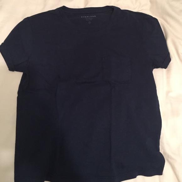 Ever lane navy t shirt